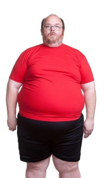 cálculo do IMC não é confiável - Homem com IMC acima de 30 visivelmente obeso