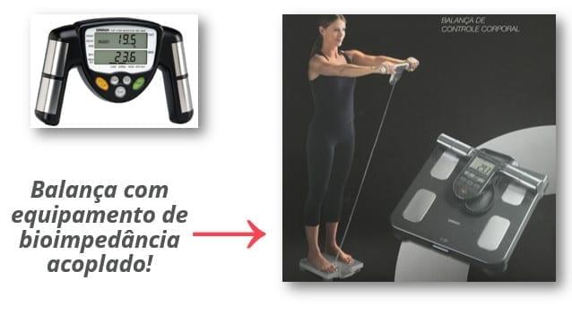 composição corporal - método bioimpedância