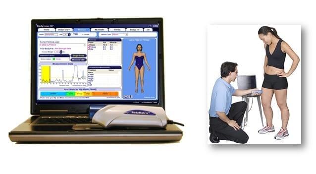 composição corporal - método ultrassom com bodymetrix