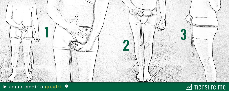 como medir gordura corporal com fita métrica - como medir o quadril